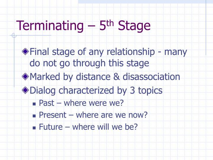 Terminating – 5