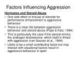 factors influencing aggression8