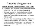 theories of aggression3