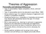theories of aggression5