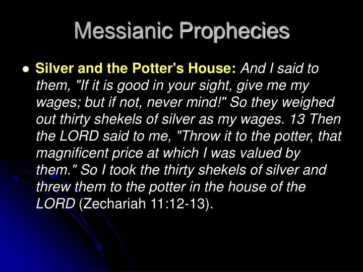 Messianic Prophecies