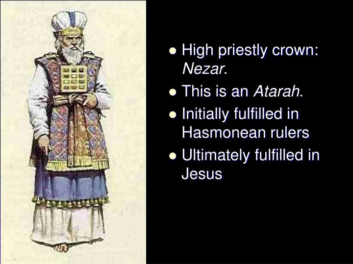 High priestly crown: