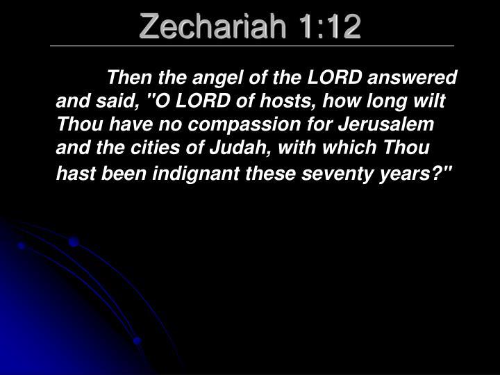 Zechariah 1:12