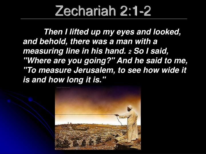 Zechariah 2:1-2