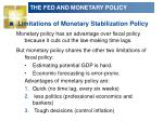 the fed and monetary policy3