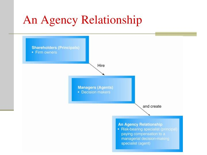 An Agency Relationship