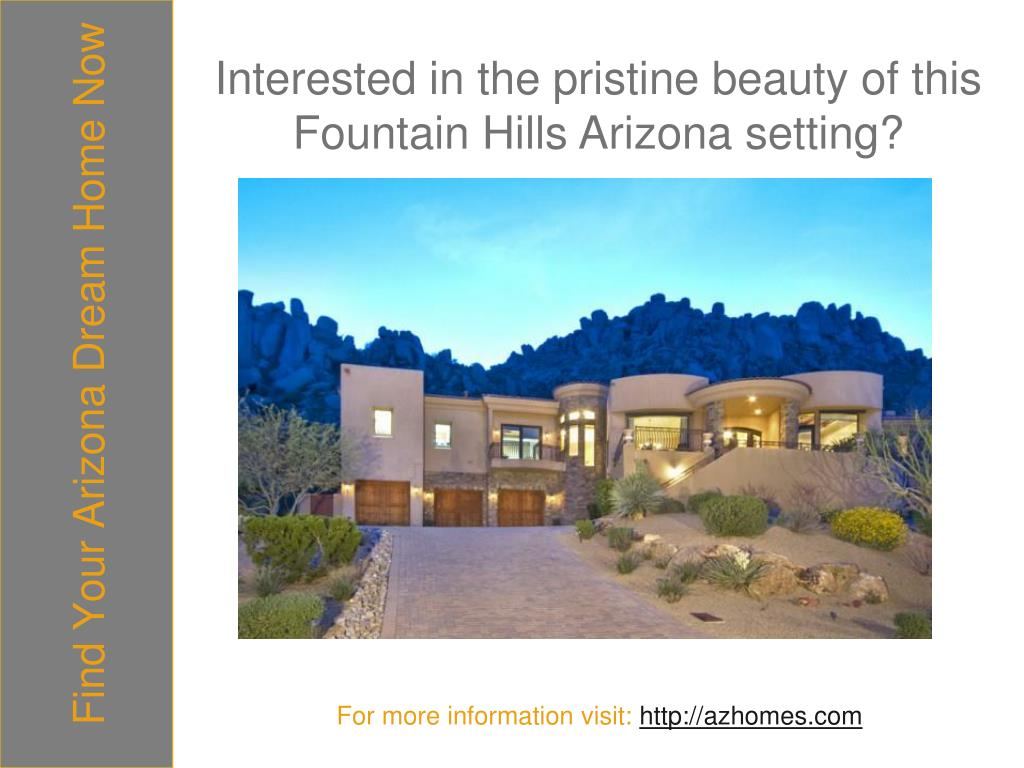 Find Your Arizona Dream Home Now