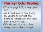 fluency echo reading1