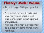 fluency model volume2