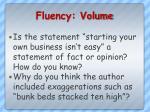 fluency volume1