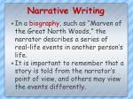 narrative writing1