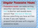 singular possessive nouns5