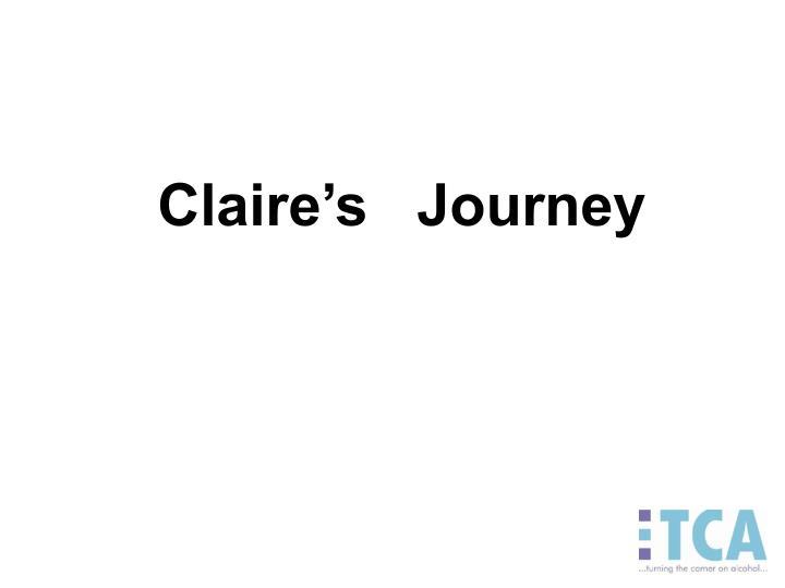 Claire's   Journey