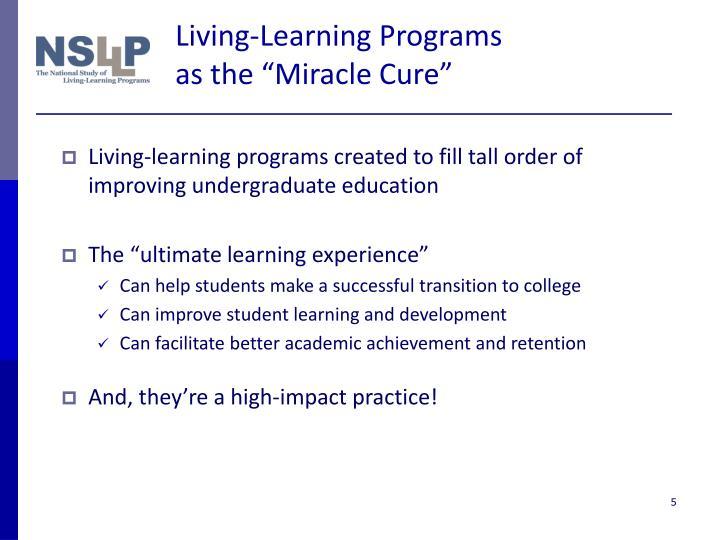 Living-Learning Programs