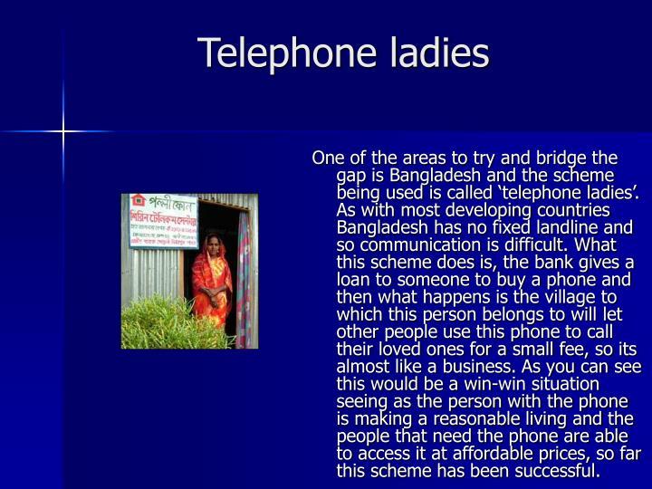 Telephone ladies
