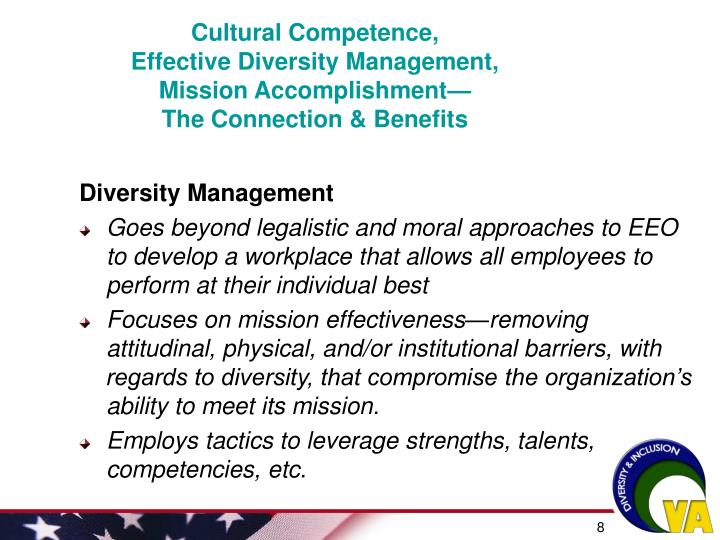 Cultural Competence,