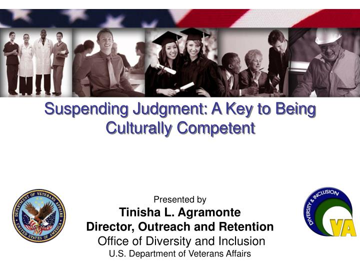 suspending judgment a key to being culturally competent