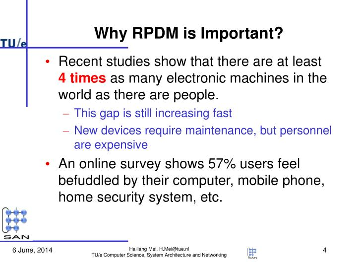 Why RPDM is Important?