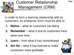 customer relationship management crm1