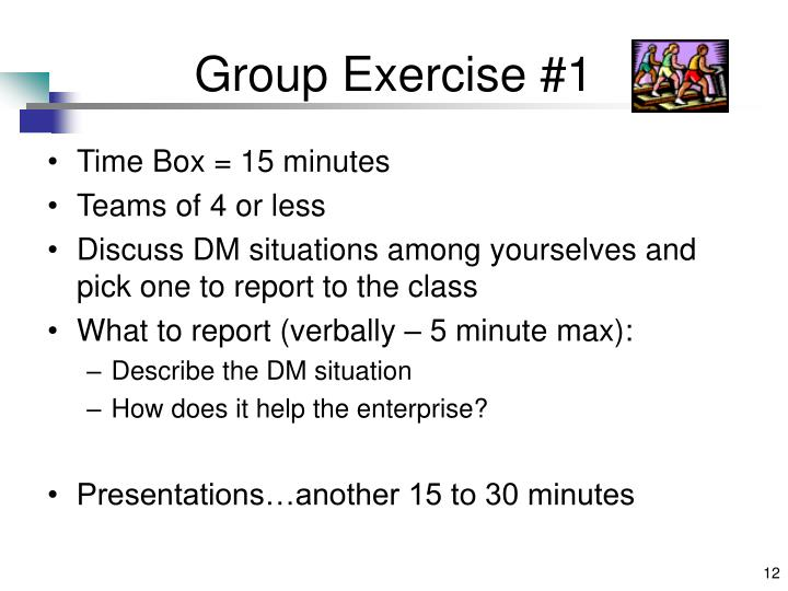 Group Exercise #1