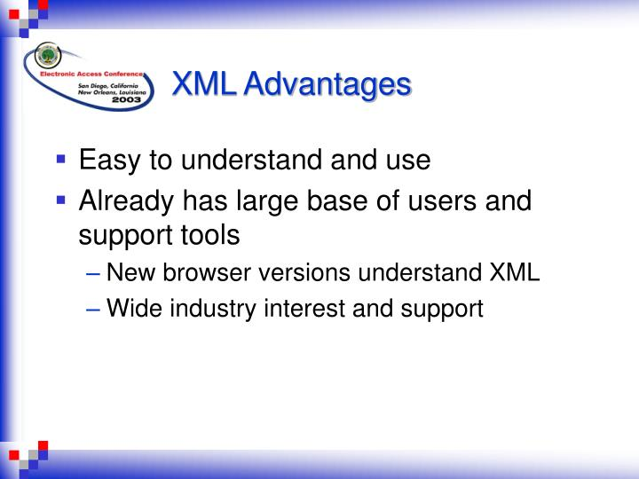 XML Advantages