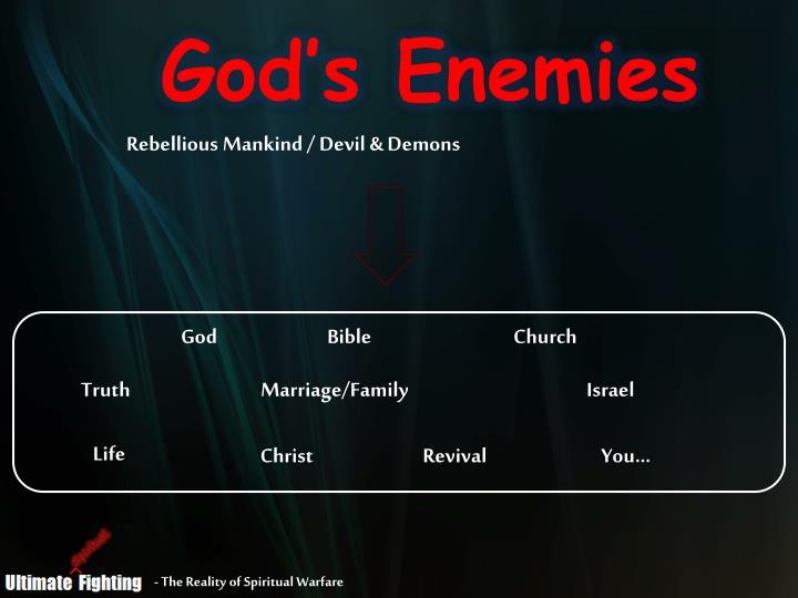God's Enemies