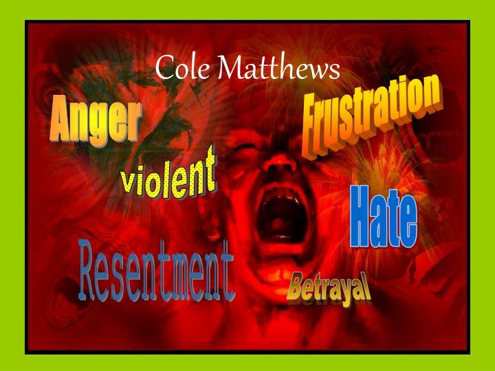 Cole Matthews