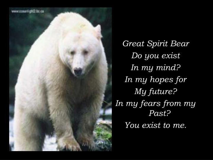 Great Spirit Bear
