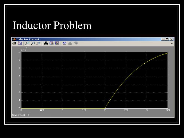 Inductor Problem