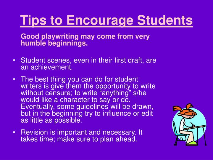 Tips to Encourage Students