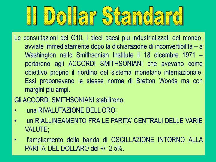 Il Dollar Standard