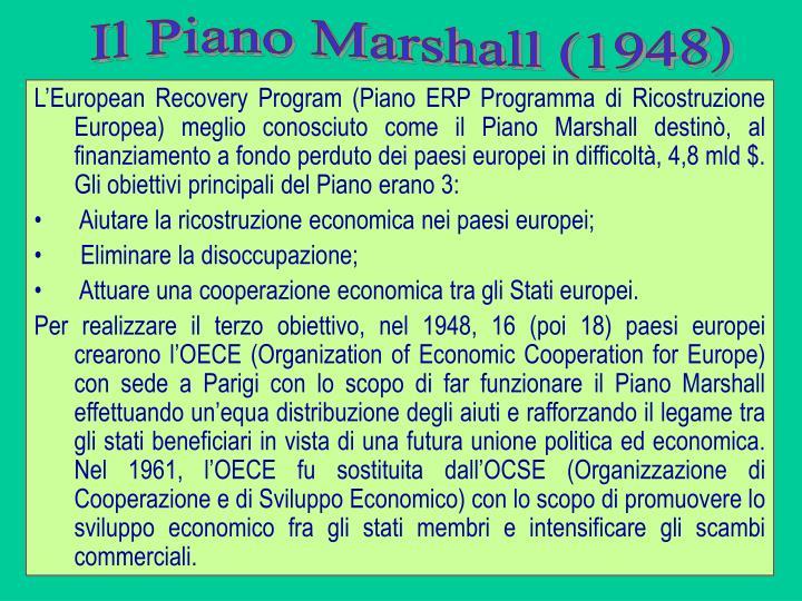 Il Piano Marshall (1948)