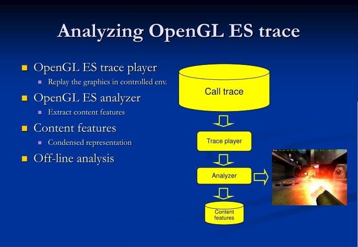 OpenGL ES trace player