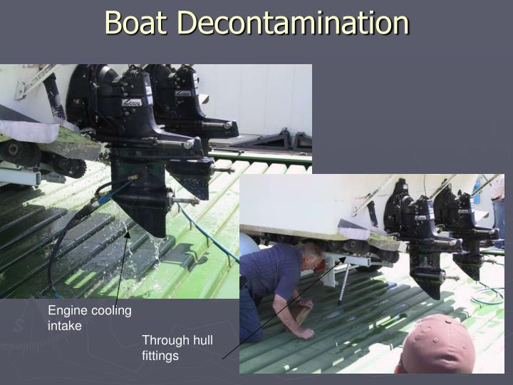 Boat Decontamination