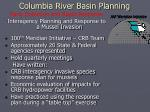 columbia river basin planning