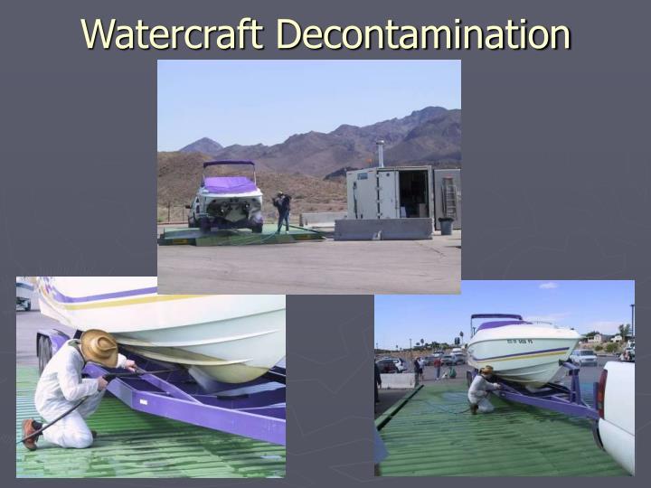 Watercraft Decontamination