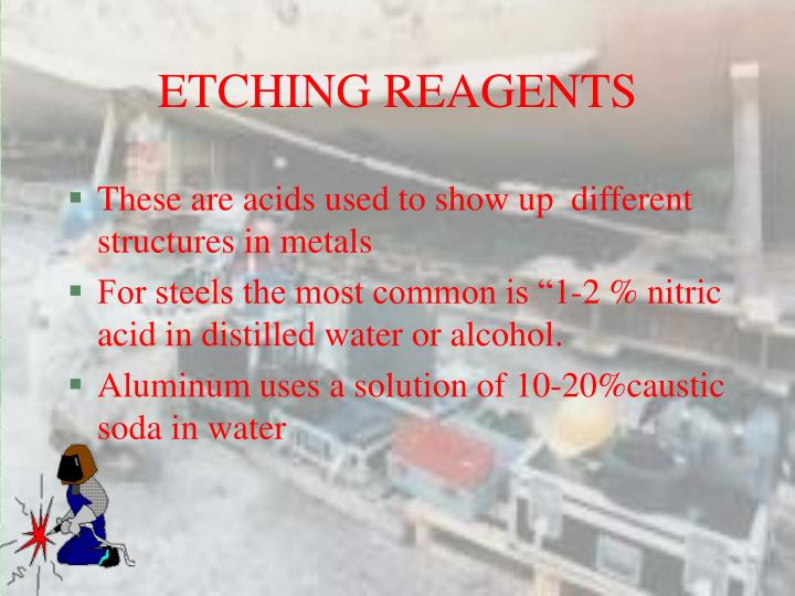 ETCHING REAGENTS