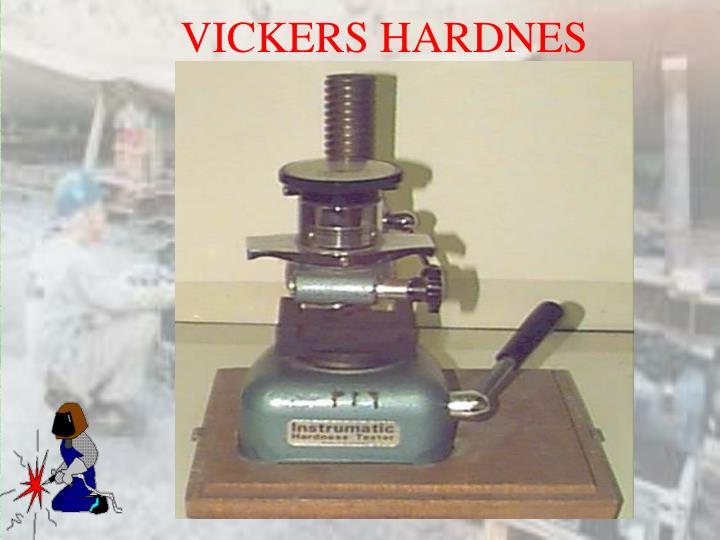 VICKERS HARDNES