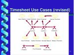 timesheet use cases revised