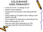 colourance demi permanent