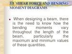 3 5 shear force and bending moment diagrams