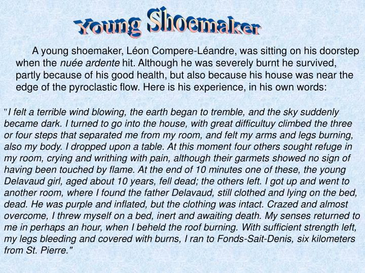 Young Shoemaker