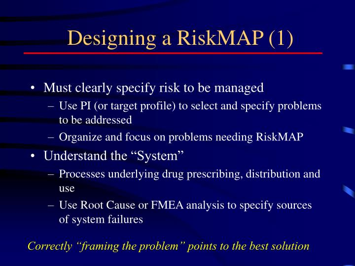 Designing a RiskMAP (1)
