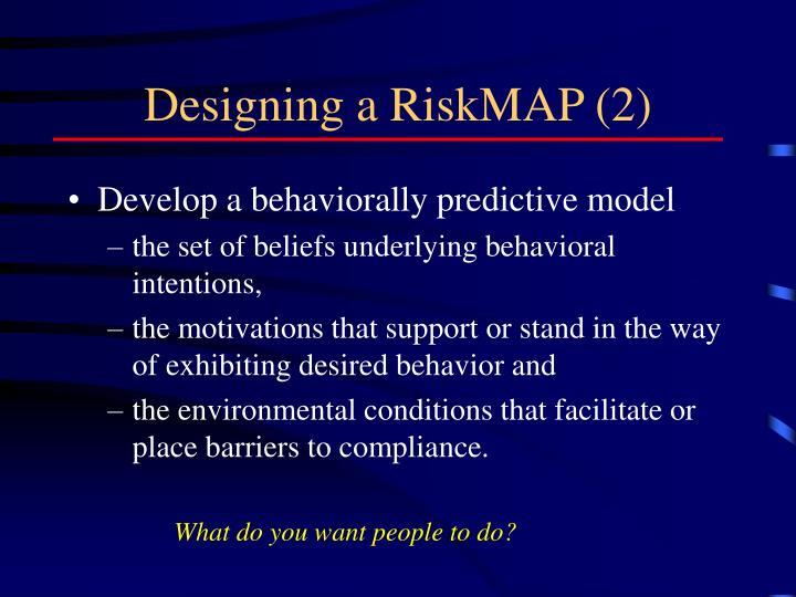 Designing a RiskMAP (2)