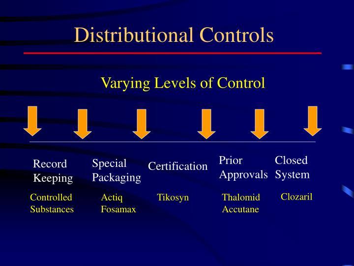 Distributional Controls