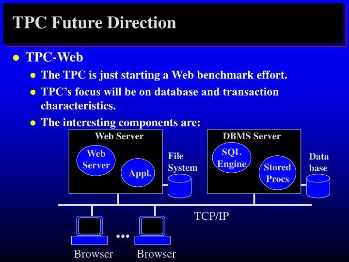 TPC Future Direction