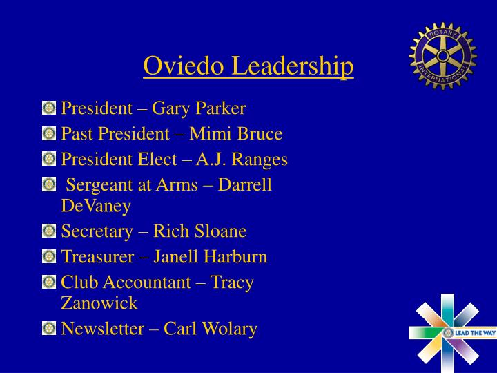 Oviedo Leadership