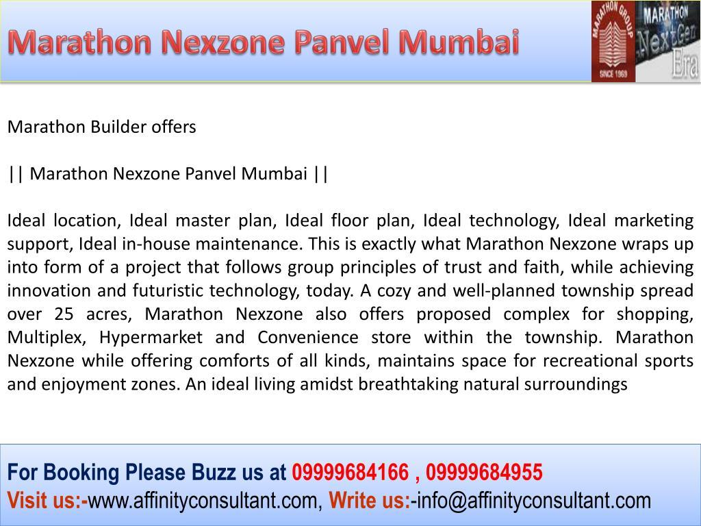 Marathon Nexzone Panvel Mumbai