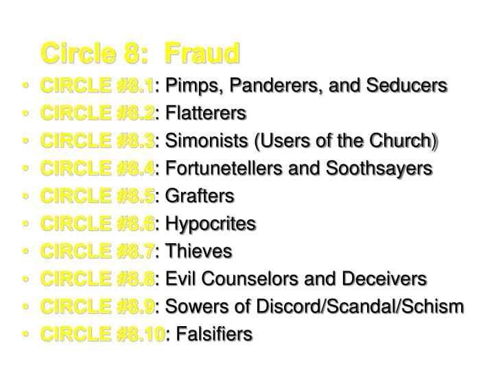 Circle 8:  Fraud