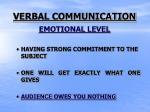 verbal communication2